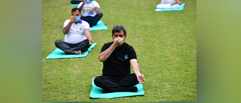 Celebrations of International Day of Yoga-2021
