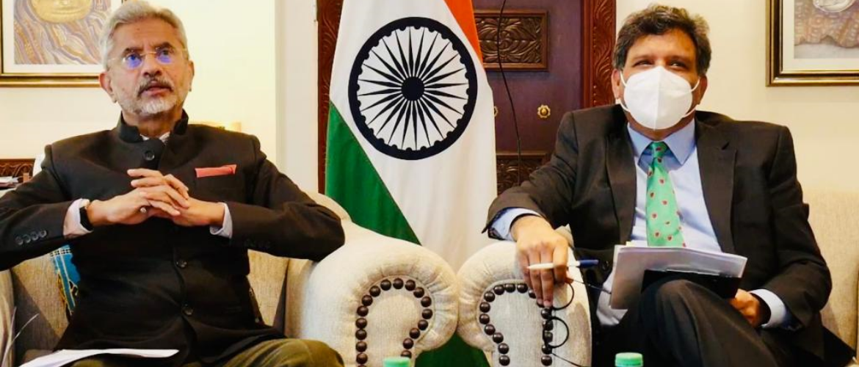 External Affairs Minister Dr. S. Jaishankar interacting with Indian diaspora during his visit to Kenya  13 June 2021